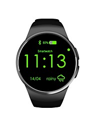 cheap -Smart Watch Calories Burned Pedometers Message Reminder Call Reminder Answer Call Dial Call Support Memory card Camera Control Touchscreen
