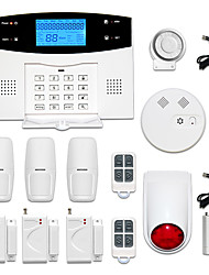 cheap -433MHz  LCD Wirless GSM/PSTN Home House Office Alarm System