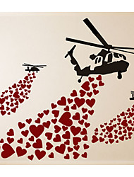 cheap -Transportation Wall Stickers Plane Wall Stickers Decorative Wall Stickers,Vinyl Home Decoration Wall Decal For Wall