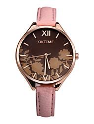 preiswerte -Damen Kinder Einzigartige kreative Uhr Modeuhr Armbanduhren für den Alltag Chinesisch Quartz Chronograph Wasserdicht Armbanduhren für den