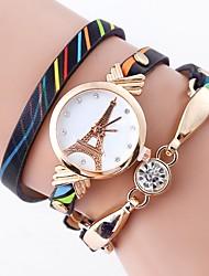 フローラルパターン 腕時計