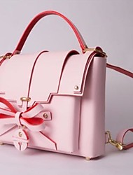 cheap -Women Bags PU Backpack Bow(s) for Casual All Season Blushing Pink
