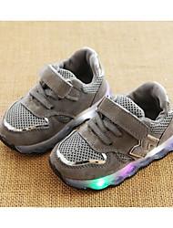 economico -Da ragazzo Scarpe Tulle Inverno Autunno Comoda Sneakers Footing Nastro a strappo per Casual Nero Grigio Rosa