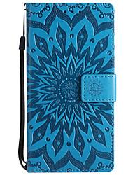 Недорогие -Кейс для Назначение Nokia Lumia 635 / Nokia Lumia 650 / Nokia Lumia 640 Nokia 8 / Nokia 6 Кошелек / Бумажник для карт / со стендом Чехол Однотонный Твердый Кожа PU для Nokia 8 / Nokia 6 / Nokia 5