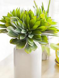 1 Větev Umělá hmota Sukulentní rostliny Květina na stůl Umělé květiny