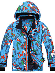 cheap -Boys' Ski Jacket Warm Fast Dry Waterproof Thermal / Warm Quick Dry Windproof Wearable Breathability UV resistant Sweat-Wicking Ski /
