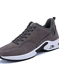 cheap -Men's Shoes Knit Spring Fall Comfort Athletic Shoes Running Shoes for Athletic Casual Black/White Gray Black
