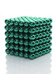 abordables -216 pcs 3mm Jouets Aimantés Blocs Magnétiques / Boules Magnétiques / Blocs de Construction Classique Brillant Cadeau