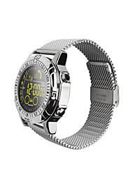 cheap -Smartwatch Time Display Water Resistant / Water Proof Calories Burned Pedometers Distance Tracking Message Reminder Call Reminder