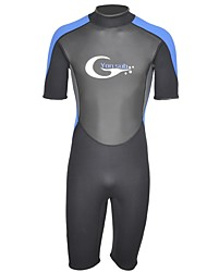 cheap -Men's 3mm Wetsuits Swimming Neoprene Diving Suit Short Sleeves Diving Suits Spring, Fall, Winter, Summer Fashion