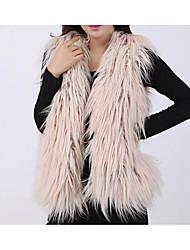 cheap -Women's Simple Vest-Solid Colored,Tassel V Neck
