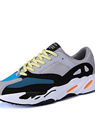 economico -Per uomo Tessuto Autunno / Inverno Comoda Sneakers Bianco / Nero / Grigio
