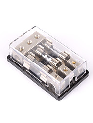 cheap -3-Way/3X AGU In-Line Fuse Holder Distribution Block Stereo/Audio/Car 60A