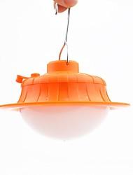 Недорогие -Походные светильники и лампы 100 lm Светодиодная лампа LED излучатели Автоматический Режим освещения с зарядным устройством Плотное облегание Оранжевый