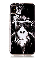 abordables -Funda Para iPhone X iPhone 8 iPhone 8 Plus Funda iPhone 5 Diseños Cubierta Trasera Animal Suave TPU para iPhone X iPhone 8 Plus iPhone 8