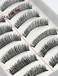 cheap -Eyelash 10 Natural Daily Makeup Full Strip Lashes Natural Long Makeup Tools High Quality Daily