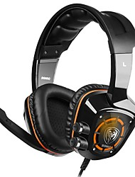 cheap -SOMIC  G910  E-sports game headset Take breathing LED lamp effect Intelligence can adjust vibration