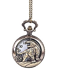 baratos -Casal Quartzo Relógio de Bolso Relógio Casual Chinês Gravação Oca Relógio Casual Lega Banda Luxo Casual Legal Bronze