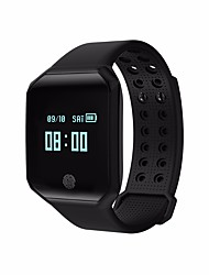 cheap -Smart Bracelet Calories Burned Pedometers Exercise Record APP Control Blood Pressure Measurement Pulse Tracker Pedometer Activity Tracker