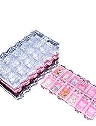 krabice na nehty s přenosnými krabicemi na nehty