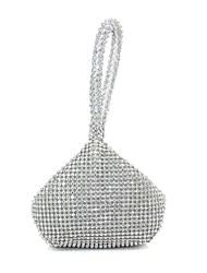 preiswerte -Damen Taschen Seide Abendtasche Perlen Verzierung für Veranstaltung / Fest Ganzjährig Gold Silber