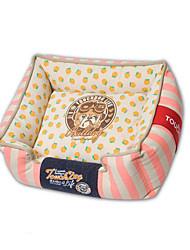 Недорогие -Собака Кровати Животные Коврики и подушки Фрукты Теплый Мягкий Зеленый Розовый Для домашних животных