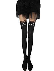 cheap -Women's Medium Pantyhose-Character,Cut Out