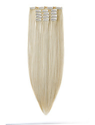 cheap -22 inch Synthetic Hair Hair Extension Classic Hair Accessories Clip In 1Pcs Classic Hair Accessories Daily High Quality