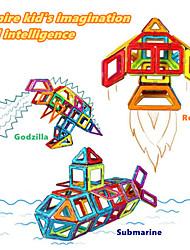 Недорогие -Магнитный конструктор Магнитные плитки Конструкторы Классический Fun & Whimsical Мальчики Девочки Игрушки Подарок
