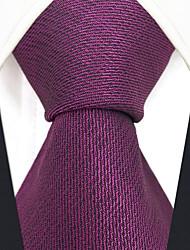 abordables -cravate en rayonne de travail pour homme - jacquard uni