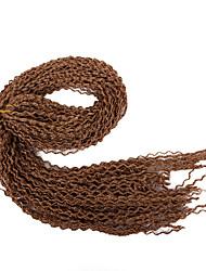 cheap -Braiding Hair Curly / Afro / Box Braids Twist Braids Synthetic Hair 1pack Hair Braids Long New Arrival / African Braids