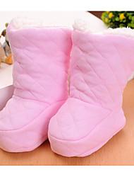 preiswerte -Baby Schuhe Stoff Winter Herbst Komfort Lauflern Stiefel für Normal Gelb Blau Rosa
