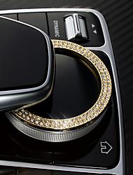 Недорогие -автомобильный центр стека охватывает diy автомобильные интерьеры для mercedes-benz все годы e class metal