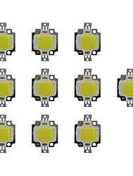 cheap -10pcs 800 LED Chip Brass Bulb Accessory 10W