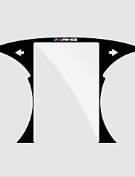 abordables -Protector de pantalla del tablero de instrumentos automotriz diy car interiors para mercedes-benz todos los años glc c clase de plástico