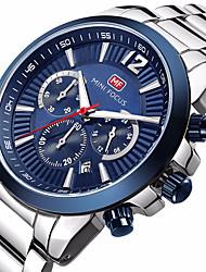 preiswerte -MINI FOCUS Herrn Armbanduhr Modeuhr Armbanduhren für den Alltag Chinesisch Quartz Kalender Wasserdicht Armbanduhren für den Alltag Nachts