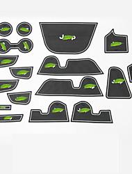 baratos -Automotivo Groove Mat Tapetes Para Carros Para Jeep 2017 Compass