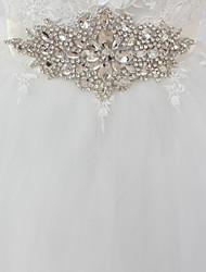 economico -Raso / tulle Matrimonio / Occasioni speciali Fusciacca Con Con diamantini Per donna Fasce