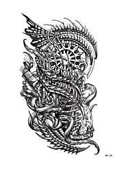 Недорогие -Стикер татуировки рука / плечо Временные татуировки 1 pcs Тату с тотемом Как на фотографии Искусство тела Повседневные