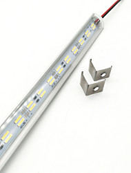 cheap -ZDM® 1m Rigid LED Light Bars 144 LEDs 5730 SMD 1x Hard Light Strip Warm White / Cold White 12 V 1pc