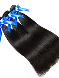 cheap -Brazilian Hair Peruvian Hair High Quality Straight Human Hair Weaves 50g x 3 3pcs/pack Newborn Cute Mini Normal Anime Extender