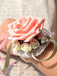 preiswerte -Hochzeitsblumen Armbandblume Hochzeit Ripsband 10 cm ca.