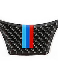 billige -bil ratt indretning ramme diy bil interiør til BMW 2011 2012 2013 2014 2015 2016 2017 5 serie carbon fiber
