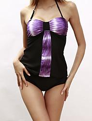 abordables -Femme Tankinis - Style classique, Couleur Pleine Slips