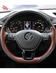 Недорогие -автомобильные крышки рулевого колеса (кожа) для Volkswagen 2017 teramon с веслом