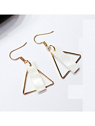 cheap -Women's Drop Earrings / Front Back Earrings - Fashion White For Party / Daily