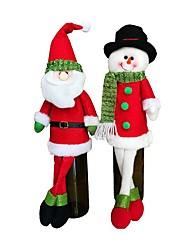 Недорогие -2шт Рождество Рождественские украшения, Праздничные украшения 41*12