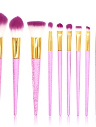 cheap -10pcs Makeup Brushes Professional Makeup Brush Set / Blush Brush / Eyeshadow Brush Nylon / Synthetic Hair / Others Eco-friendly /