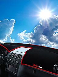 Недорогие -автомобильный Маска для приборной панели Коврики на приборную панель Назначение Volkswagen Все года Touran
