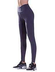 baratos -Mulheres Calças de Corrida - Preto, Roxo Escuro, Azul Marinho Escuro Esportes Calças / Leggings Roupas Esportivas Secagem Rápida,